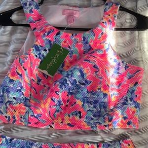 Two piece Lilly Pulitzer dress